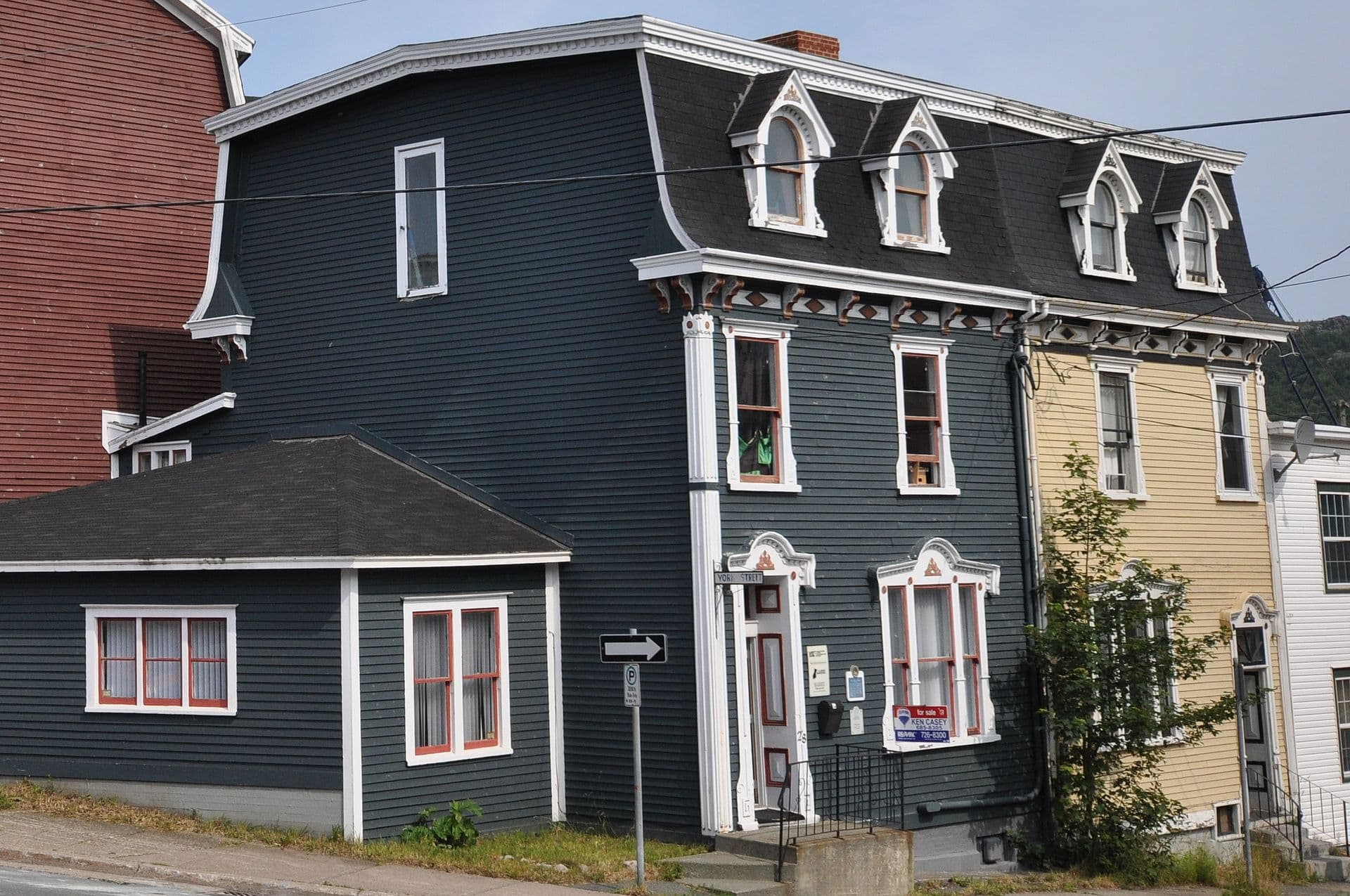 2nd empire style was the most common design Newfoundland architecture in the early 1900's