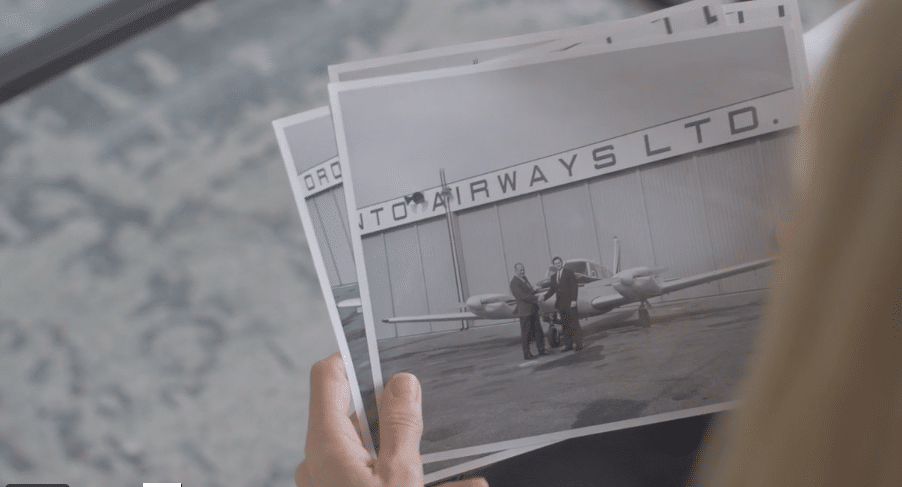 aviation video still